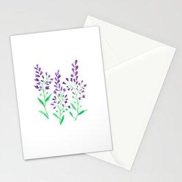 Purple Delphinium Stationery Cards