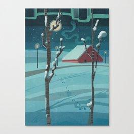 Silent Wave of Light Canvas Print