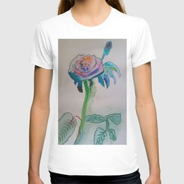Flower inspiration modern paintings by Christian T. T-shirt