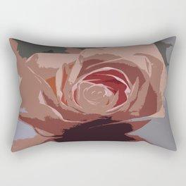 A Dusty Rose Rectangular Pillow