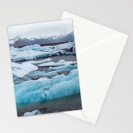 Jökulsárlón Glacier Lagoon, Iceland Stationery Cards