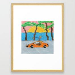 Brockhampton - RENTAL - Acrylic Painting Framed Art Print