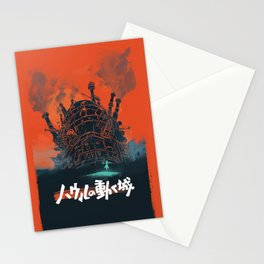 Howls moving castle  Stationery Cards