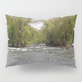 Springtime on the Fox River Pillow Sham