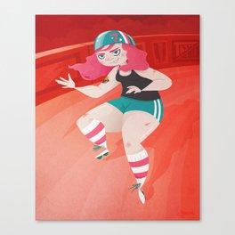Cheap Trixie Canvas Print