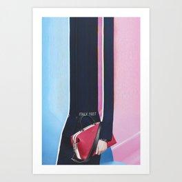 Bazaar #79 Art Print