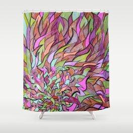 FUEGO INTERNO Shower Curtain