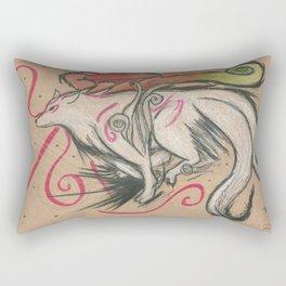 Run (Amaterasu - Okami) Rectangular Pillow