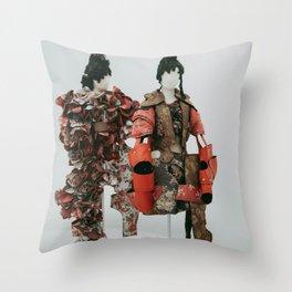 Rei Kawakubo at the Met Throw Pillow