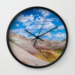 Bad Lands 2 Wall Clock