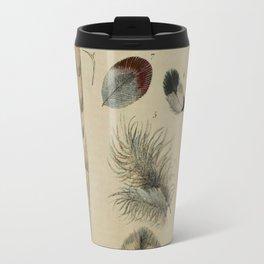 Naturalist Feathers Travel Mug