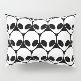 They're Here. Pillow Sham