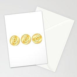 Bitcoin Btc Funny Men Women Gift Stationery Cards