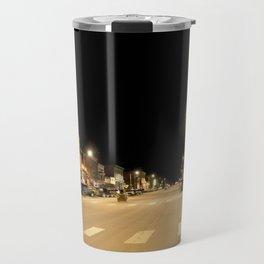 Gold Rush Era Town - Silverton at Night Travel Mug