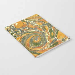 Old Marbled Paper 03 Notebook