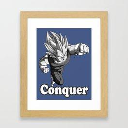 Conquer Framed Art Print