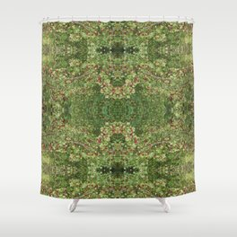 Hawthorn B Fractal Shower Curtain