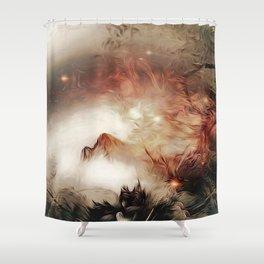 Ignis Daemonium Shower Curtain