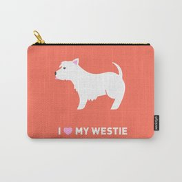 Westie Illustration Carry-All Pouch