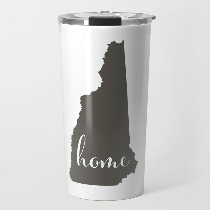 New Hampshire is Home Travel Mug