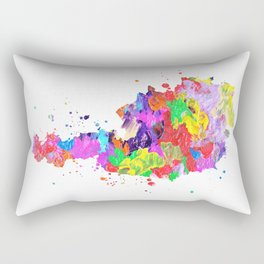 Austria Map Rectangular Pillow