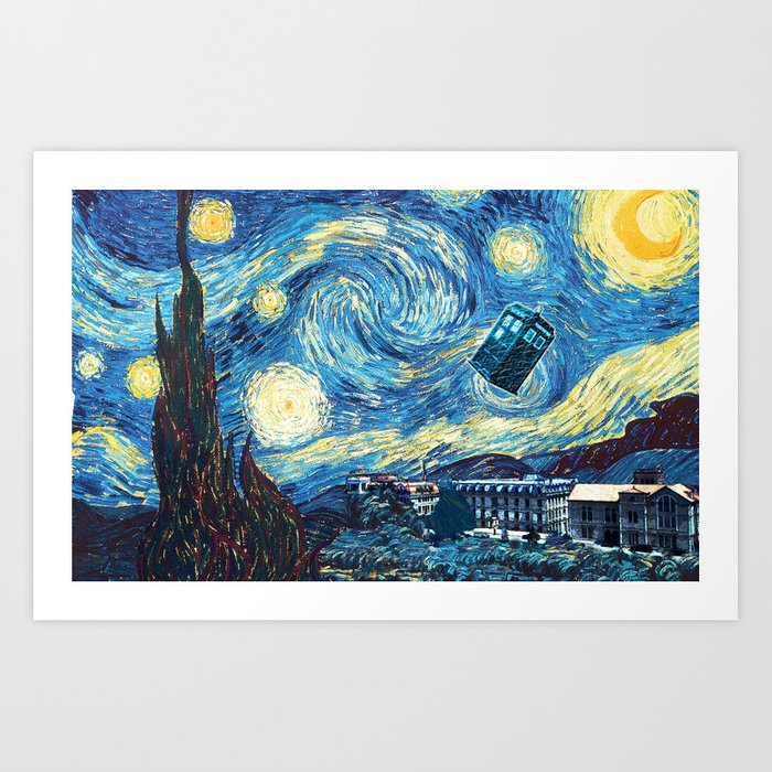 Vincent and The Doctor - Bosphorus Art Print