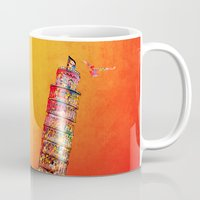 italy Mugs featuring Italy  by mark ashkenazi