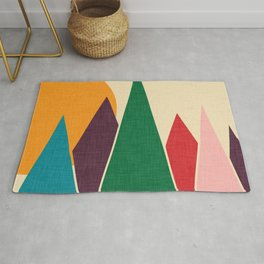 solar mountain #homedecor #midcentury Rug