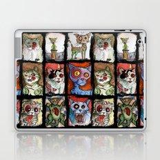 9 zombie cats Laptop & iPad Skin