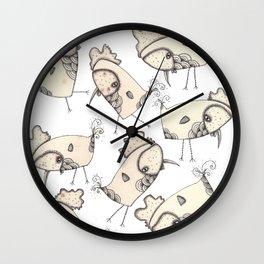 Chooks Wall Clock