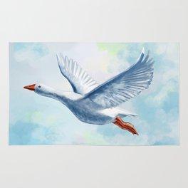 White Goose Rug