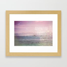 Open Ocean Framed Art Print