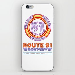 ROUTE 91 iPhone Skin