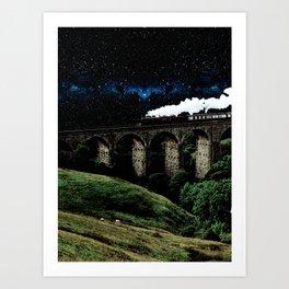 Starline Express Art Print