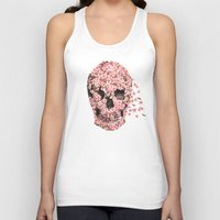 skull Tank Tops featuring A Beautiful Death  by Terry Fan