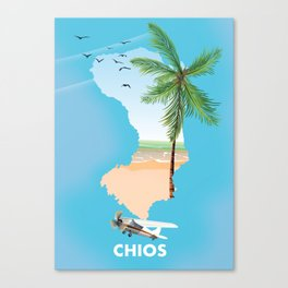 Chios Greece Canvas Print