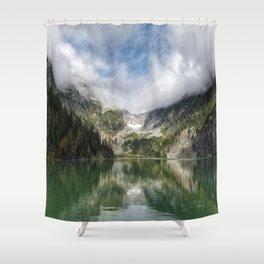 Lake Landscape #mountains Shower Curtain