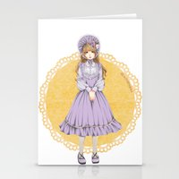 lolita Stationery Cards featuring Lolita by petitechatnoir