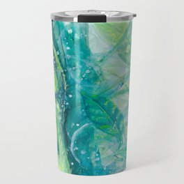 Anole and Jasmine Travel Mug