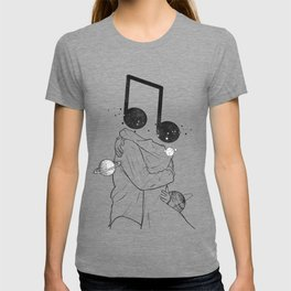 The music love. T-shirt