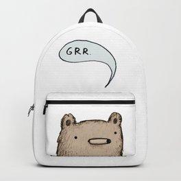 Growling Bear Backpack