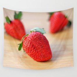 Fresh Strawberries 2018 Wall Tapestry