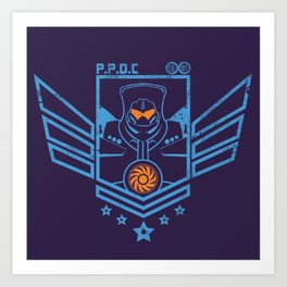 P.P.D.C. Art Print