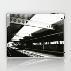 blue line Laptop & iPad Skin