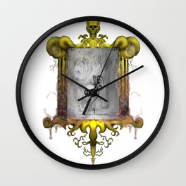 Misperception - no background Wall Clock