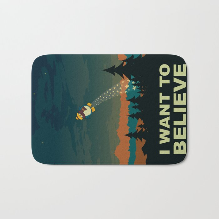 I want to believe Bath Mat