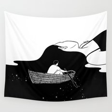 Rowing to you Wall Tapestry