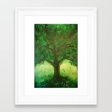 Dreaming of summer Framed Art Print