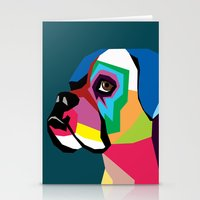 dog Stationery Cards featuring dog by mark ashkenazi