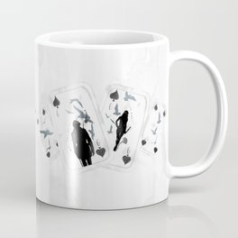 A PAIR OF CROWS - SET 01 Coffee Mug